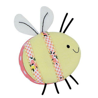 NEW Button It 82372 | Honey Pot Bumble Bee Pin Cushion | 9 x 12 x 3½cm FREE POST