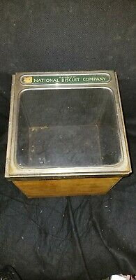 Antique Nabisco National Biscuit Company Store Canister Advertising