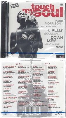 Cd-Nm-Sealed-Various -1996- - Doppel-Cd -- Touch My Soul - The Finest Of Black M
