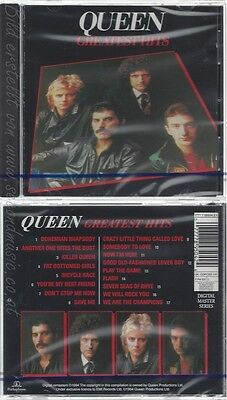 Cd--Nm-Sealed-Queen -1994- - Original Recording Remastered -- Greatest Hits I