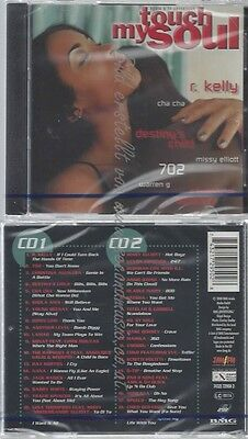 Cd-Nm-Sealed-Various -2000- - Doppel-Cd -- Touch My Soul - The Finest Of Black M
