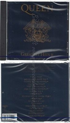 Cd--Nm-Sealed-Queen -1991- -- Queen - Greatest Hits Ii