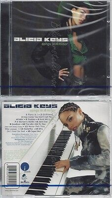 Cd--Nm-Sealed-Alicia Keys -2001- -- Songs In A Minor