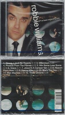 Cd--Nm-Sealed-Robbie Williams -1998- -- I've Been Expecting You