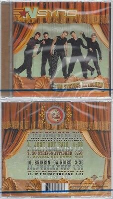Cd--Nm-Sealed-'n Sync -2000- -- No Strings Attached