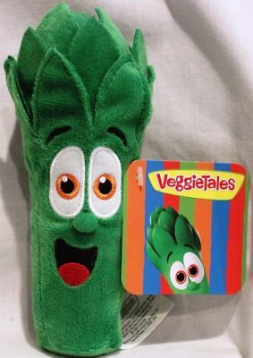 Junior Asparagus VeggieTales Beanie Toy Plush Brand NEW Kids