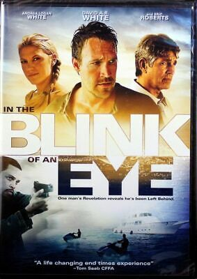 In The Blink Of An Eye NEW Christian DVD Movie David A.R. White, Eric Roberts