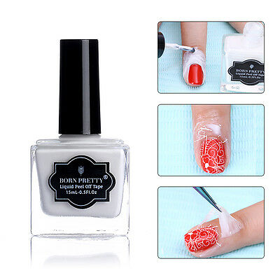 15ml Born Pretty Peel Off Liquid Tape & Peel Off Base Coat Nail Art Palisade