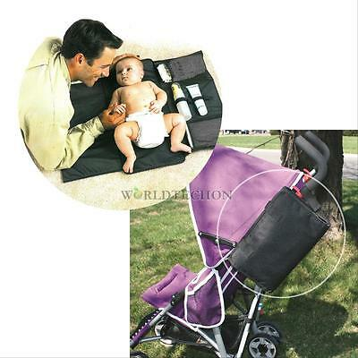Portable Waterproof Baby Infant Nappy Nappy Diaper Bag Changing Pad Covers Mats