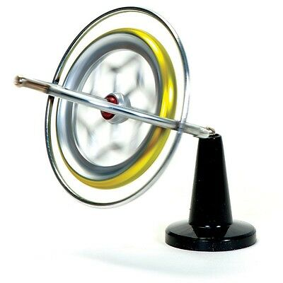 Retro Original Metal Gyroscope Spinning Educational Science Toy Gadget 01544