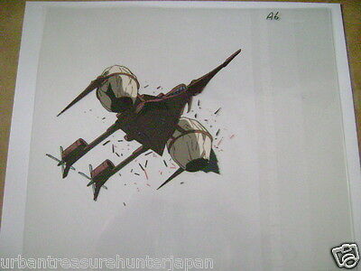 The Vision Of Escaflowne Allen Airship Crusade Anime Production Cel