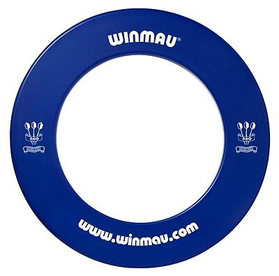 NEW WINMAU Professional Dart Board Surround one piece BLUE Made in the UK