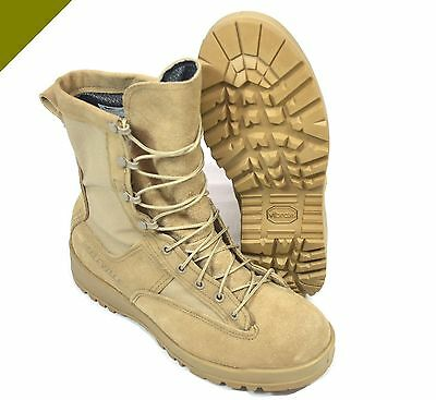 Us Origin Air Force Fliegerstiefel Khaki Stiefel Leder Schuhe Vibram Belleville