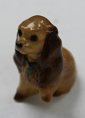 Hagen Renaker Lady Cocker Spaniel Dog with Paw Up Figurine