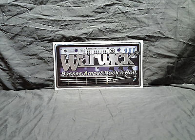 Warwick Bass Sticker
