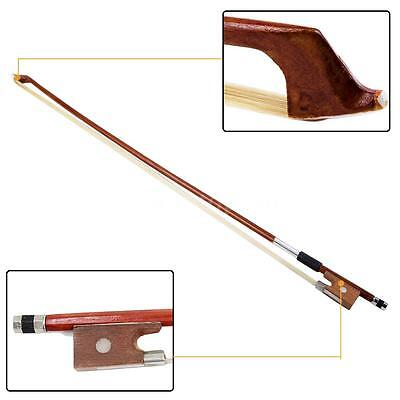Andoer Professional Full Size 4/4 Arbor Horsehair Violin Practice Bow Bronze
