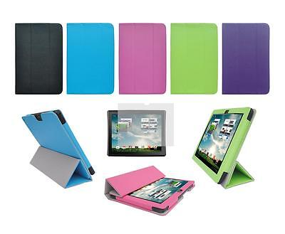 """Folio Cover Case and Screen Protector for Insignia Flex 9.7"""" NS-13T001 Tablet"""