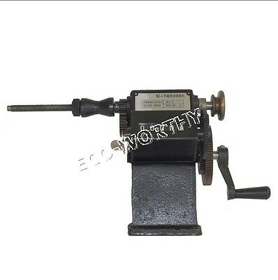 NZ-1 Manual Hand Electric Dual-purpose Coil Winder Winding Machine W/ Counting