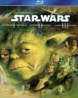 Star Wars Trilogy - Episodi 1-2-3  3 Blu-Ray  Cofanetto