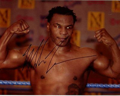 MIKE TYSON signed autographed photo