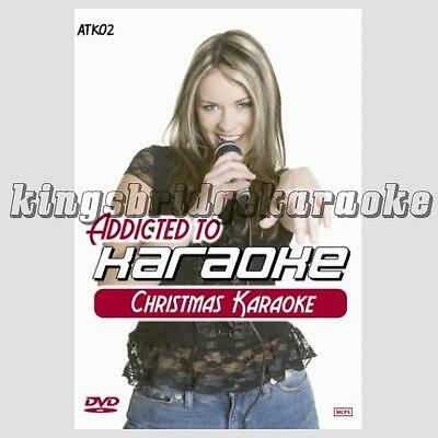 Zoom Karaoke DVD ZATK02 - Christmas Hits / 30 Xmas Pop Favourites For DVD Player