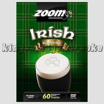Zoom Karaoke DVD - Irish Superhits 60 Tracks, 2 DVDs / Pop, Rock For DVD Player