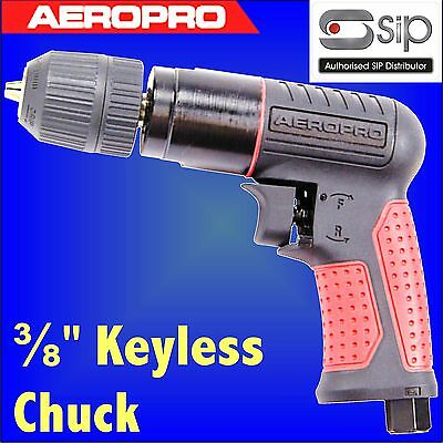 SIP 07209 Aeropro Composite Reversible Air Drill 3/8 keyless type chuck
