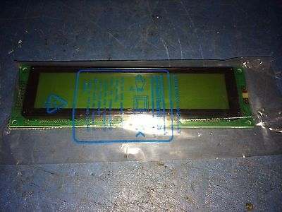 EDT Plotech 20-20265-3 4x40 EW10239YLY Character Alphanumeric LCD Display Bar