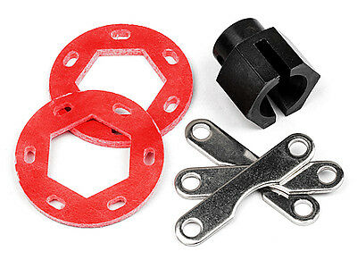 87025 Hpi Fiberglass Dual Disk Brake Conversion Kit
