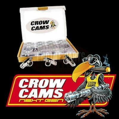 """Crow Cams Stainless Roller Rockers 3/8"""" Stud 1.5:1 Holden 6 Cyl Crhl6153"""