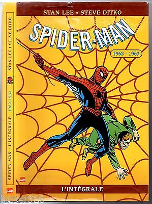 L'INTEGRALE SPIDER-MAN n°1 # 1962-1963 # EO 2002 MARVEL COMICS
