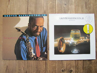 2 LP´s rare GROVER WASHINGTON JR Sammlung