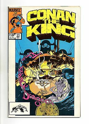 Conan The King Vol 1 No 22 May 1984 (VFN+ to NM-)Marvel, Double Size, Modern Age