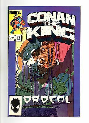 Conan The King Vol 1 No 23 Jul 1984 (VFN+ to NM-)Marvel, Double Size, Modern Age