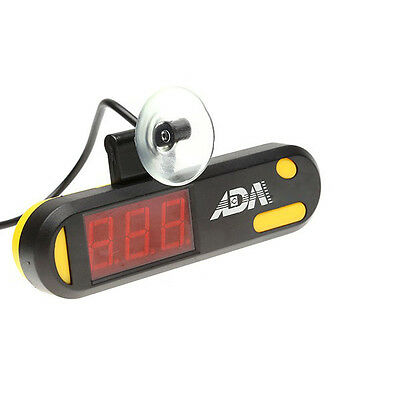 USB Submersible Thermometer Fish Tank Temperature Meter LED Screen With Sucker C
