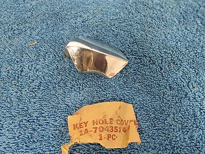 1951 Ford  Trunk Lock Cover Door Trim   Nos Ford  915