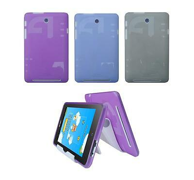View Stand Holder + TPU Gel Skin Case Cover for ASUS Memo Pad HD ME173X Tablet