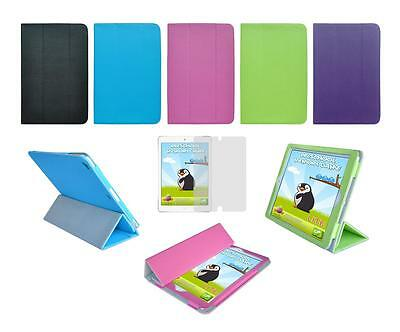 Folio Smart Skin Cover Case and Screen Protector for Apple iPad Air 1st Gen