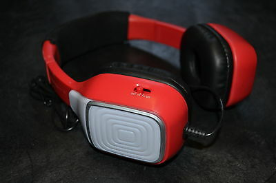 First Act FI605 JamTech Lightbeats Headphones Red Color: Red Toy Kids Play 9E