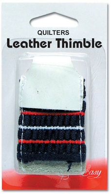 NEW | Sew Easy ER223 | Leather Quilters Thimble | One Size Fits All | FREE POST