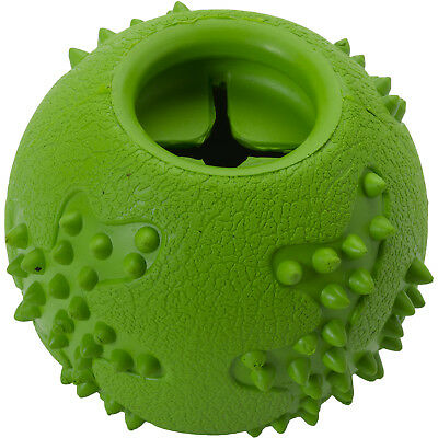 Petface Toyz Natural Rubber Chew Ball & Treat Dispenser Dog Puppy Fun Play Toy
