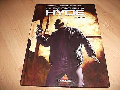 ALBUM BD SYNDROME DE HYDE tome 1 traque  eo 2007 corbeyran guerineau