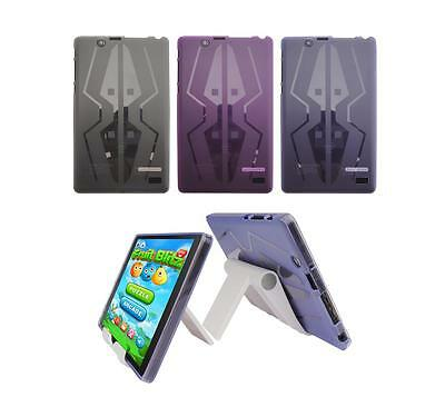 View Stand Holder + TPU Skin Case Cover for Nextbook Flexx 8 NXW8QC132 Tablet