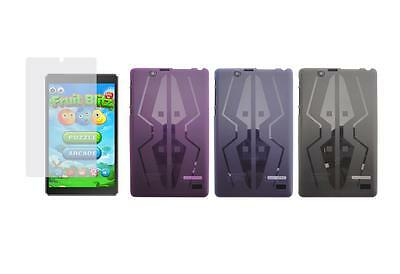 TPU Gel Skin Cover Case + Screen Protector for Nextbook Flexx 8 NXW8QC132 Tablet