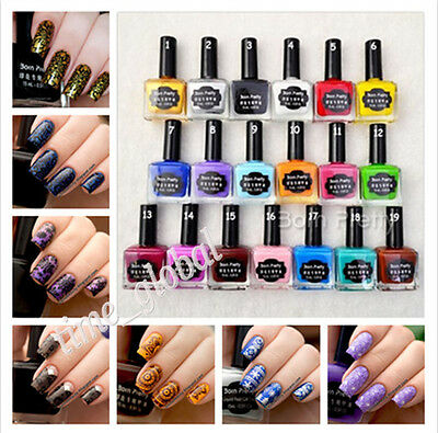15ml Born Pretty Nail Art Stamping Polish Newly Sweet Color Nail Polish Varnish