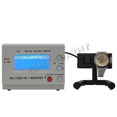 90-240V Watch Timing Machine Tester Tools Multifunction Timegrapher NO.1000