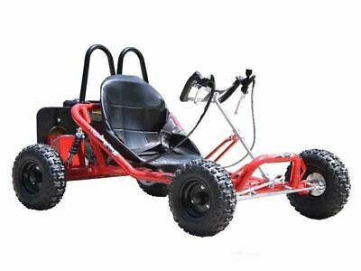 GMX Drift 200cc Go Kart Electric Start Red