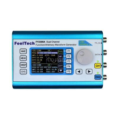 Digital Dual-channel Function/Arbitrary Waveform Signal Generator 200MSa/s 6MHz