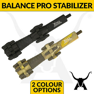 "Apex Hunting - Balance PRO 6.5"" Bow Stabilizer - Ultimate noise dampening"