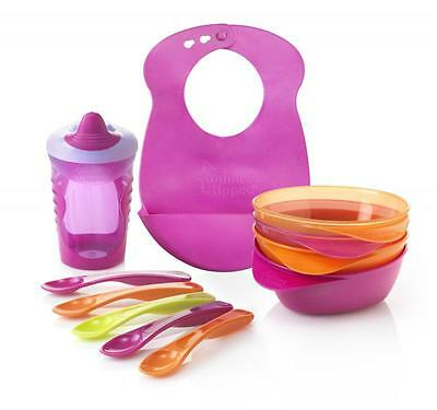 Tommee Tippee 44673671 Explora Feeding And Drinking Kit Including Bib BPA Free